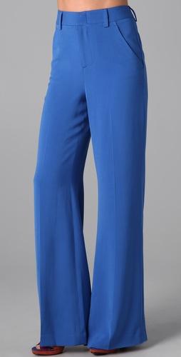 阔腿裤款式设计图