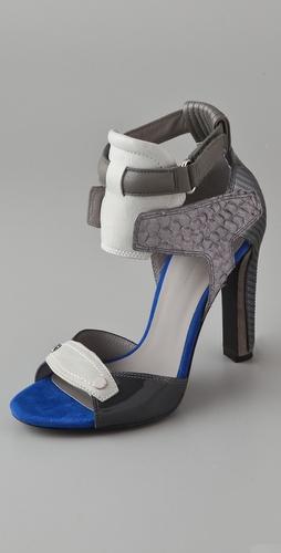 chloe 高跟凉鞋