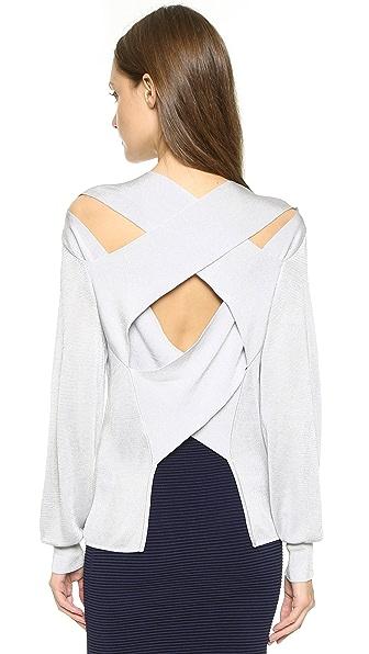 衬衫肩部带子系法图解