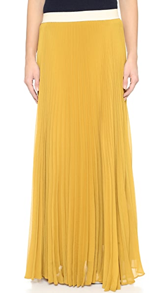 褶皱半身长裙