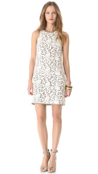 juicy couture 凸纹蕾丝连衣裙