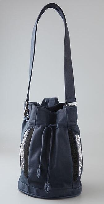 designer backpack diaper bag  stylist-turned-designer