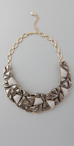 几何体项圈项链