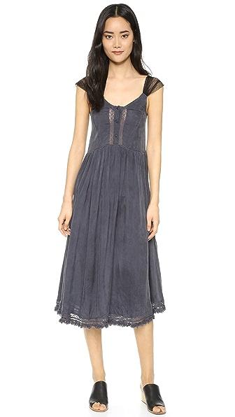 波西米亚风情连衣裙
