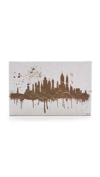 纽约天际线标志