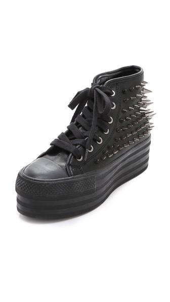 铆钉高帮运动鞋|shopbop