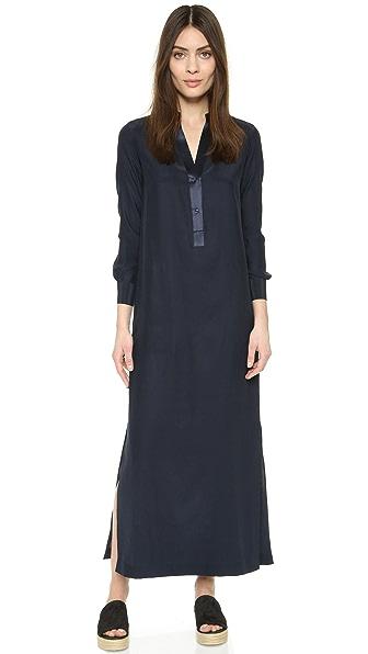 长袖连衣裙图片