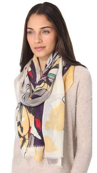 羊绒围巾|shopbop