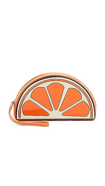 橙子简笔画彩色