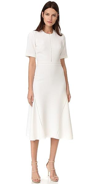 短袖工裝連衣裙
