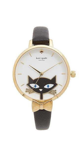 黑色猫咪手表