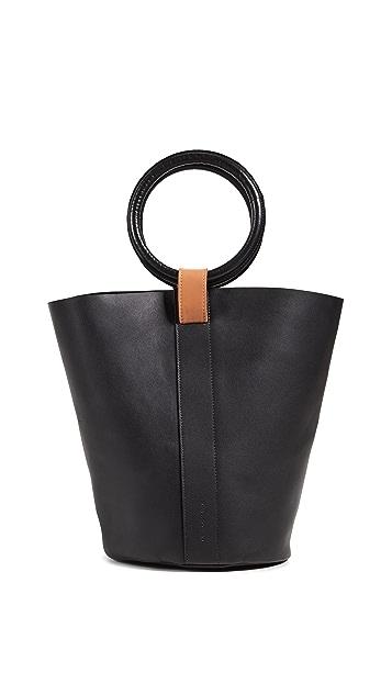 小号圆筒形手提包