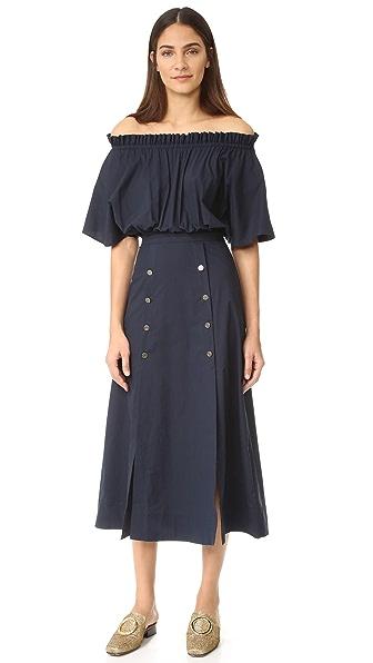 裙子款式图正反面手绘