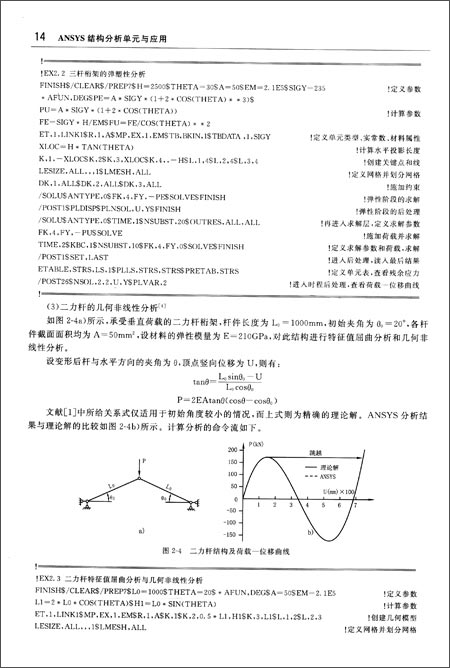 ANSYS结构分析单元与应用