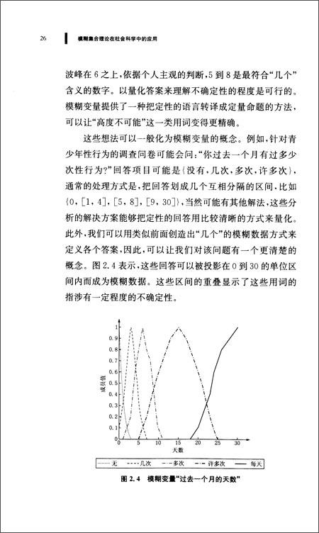 模糊集合理论在社会科学中的应用