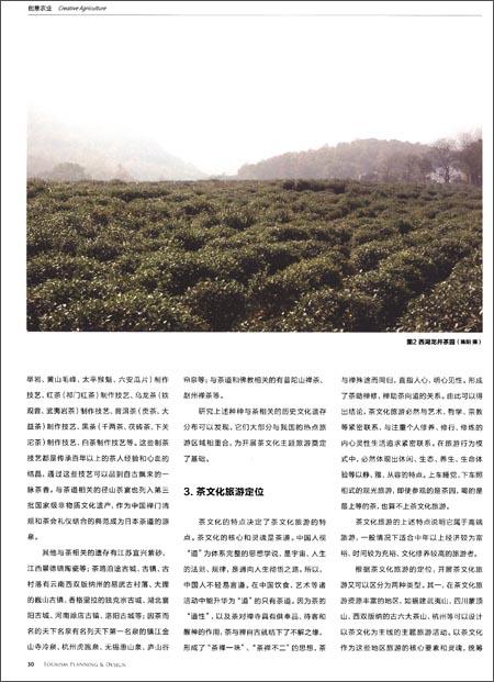 旅游规划与设计:创意农业