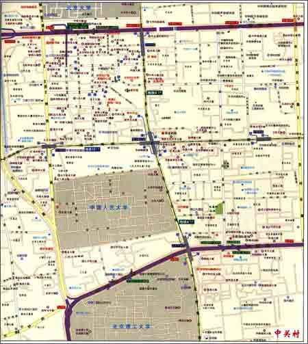 北京地图•大城区详图