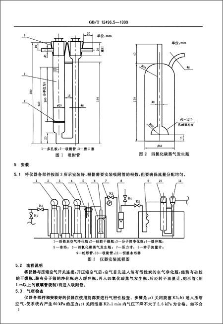 《木质活性炭试验方法