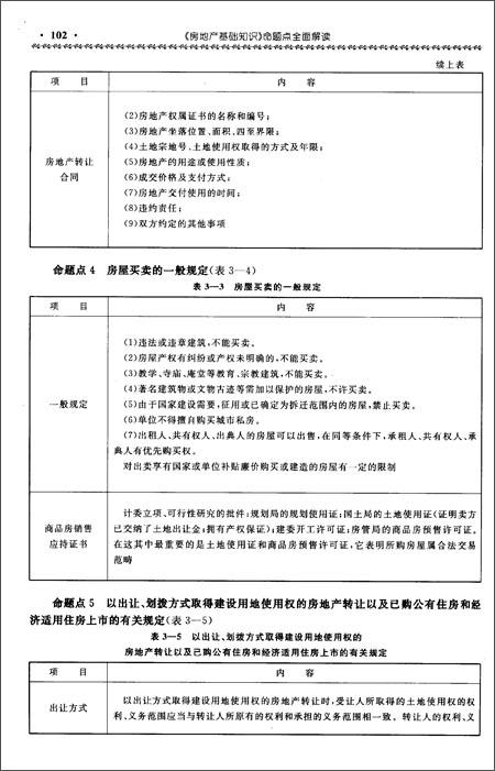房地产经纪人协理从业资格考试辅导用书:《房