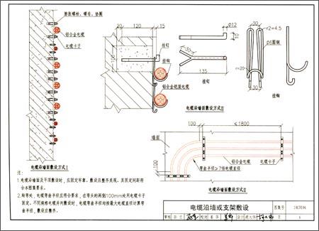 国家建筑标准设计图集:铝合金电缆敷设与安装