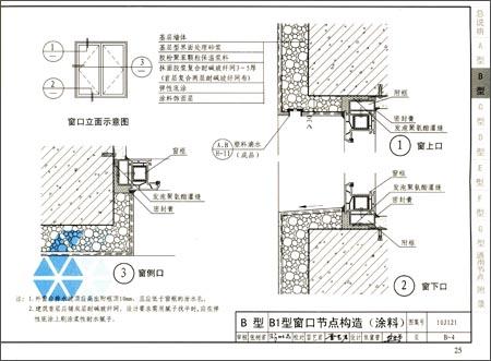 《国家建筑标准设计图集:外墙外保温建筑构造(10j121j