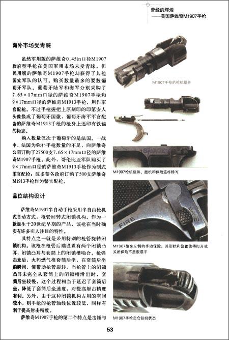 轻武器典藏手册:世界著名手枪1