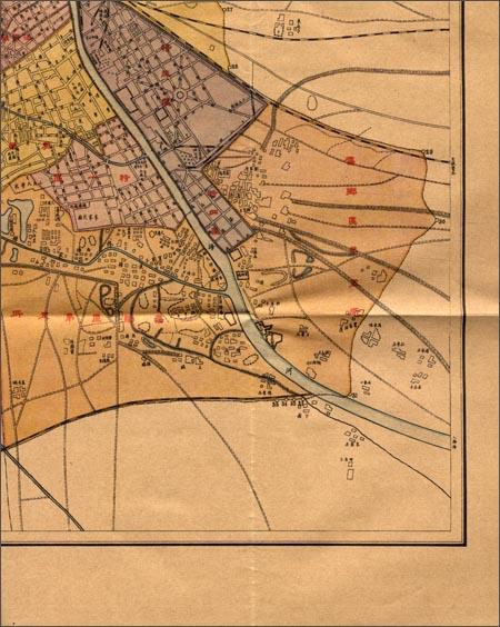 """""""在民国""""城市老地图庋藏系列:民国二十五年天津市街道详图"""