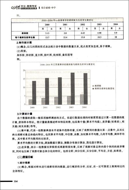 中公版•2013国家教师资格考试专用教材:综合素质中学