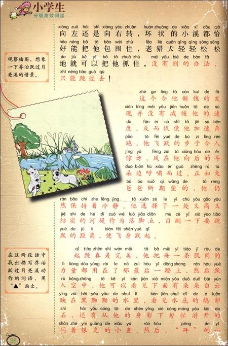 小学生分级高效阅读:彩色坡兔子插霹雳/祝兴平视频教图版舞图片