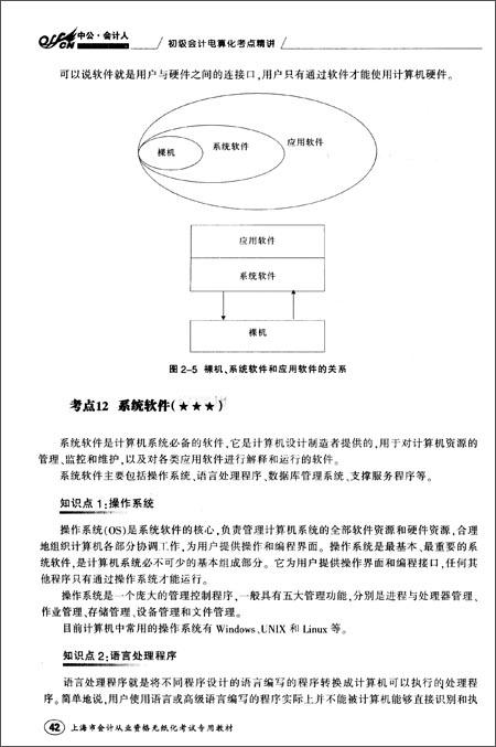中公•会计人•上海市会计从业资格无纸化考试专用教材:初级会计电算化考点精讲