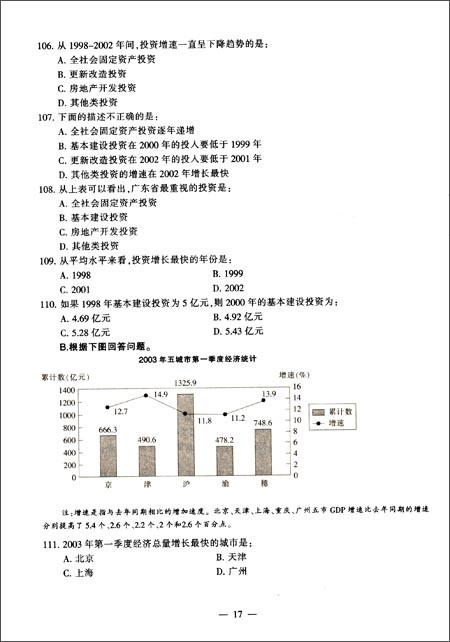 中公教育•国家公务员录用考试真题系列•历年真题精解:行政职业能力测验