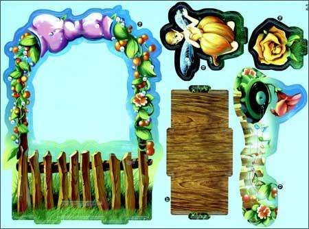 回至 很好玩立体拼图书:森林精灵时钟 (平装)