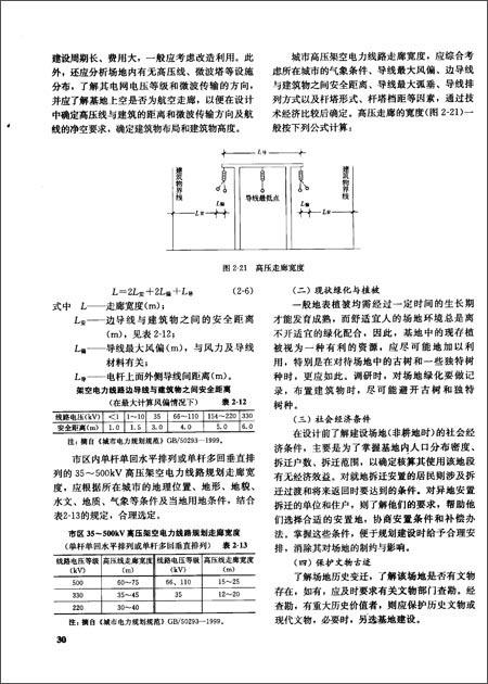 民用建筑场地设计 (第二版)