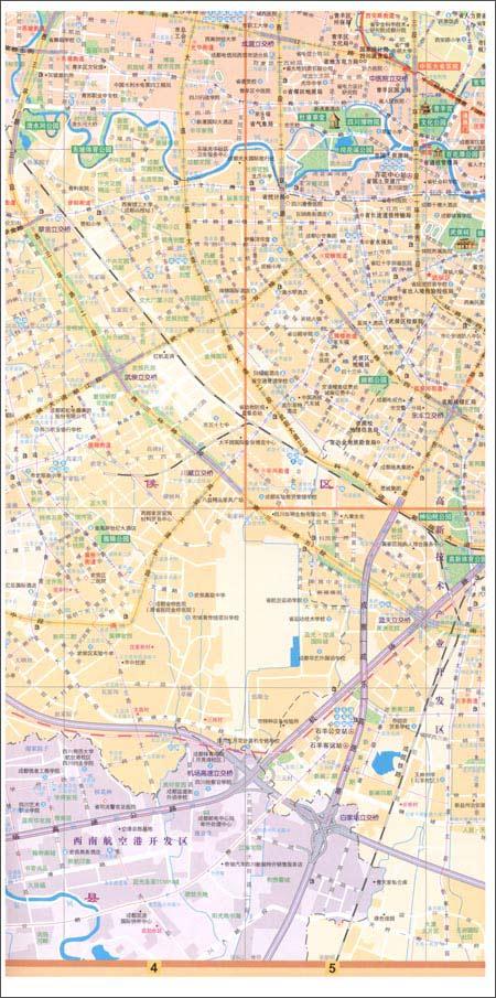 成都市街道详图