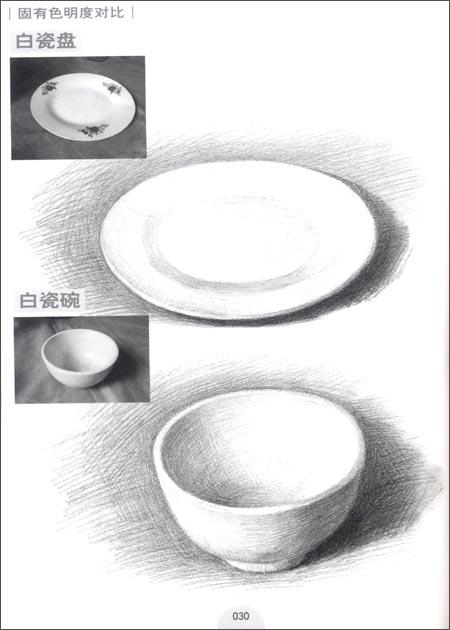 杯子铅笔画