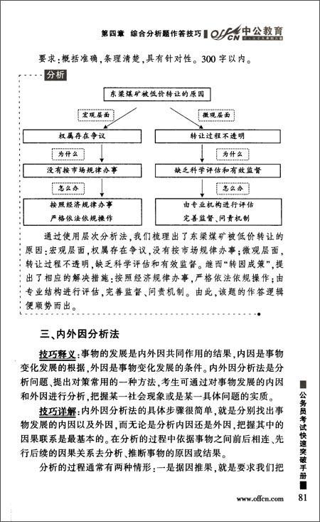 中公教育•公务员考试快速突破手册:申论高分技巧集萃