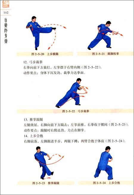 中国武术段位制系列教程:自卫防身术