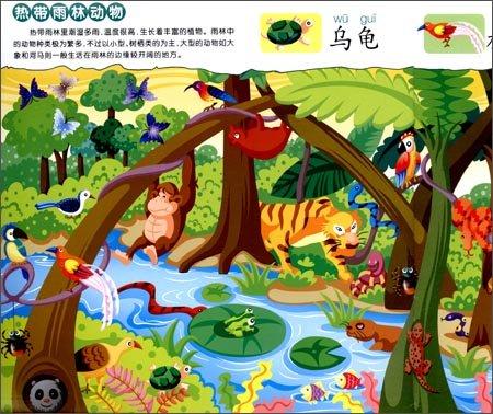 回至 幼儿视觉认知绘本:图画大搜索(动物篇) (平装)