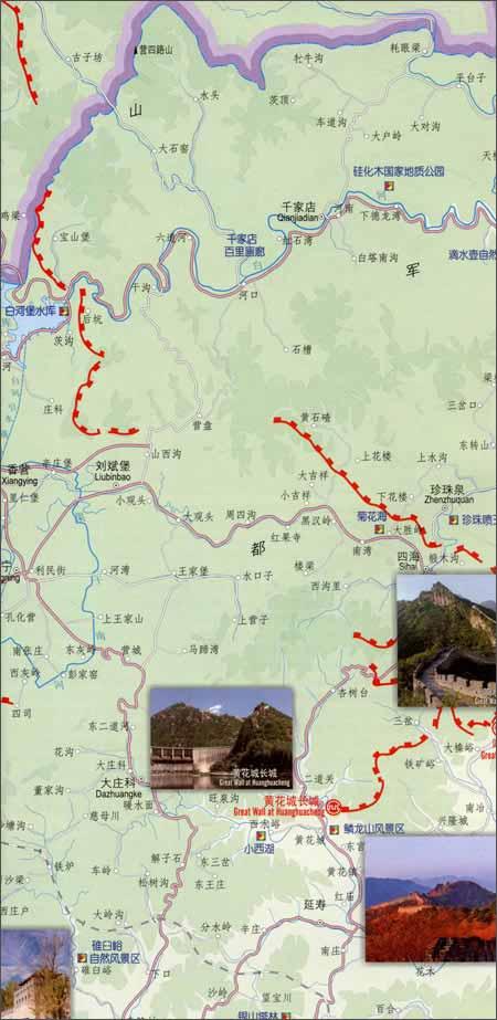 北京旅游景点地图介绍 求具体北京旅游景点地图