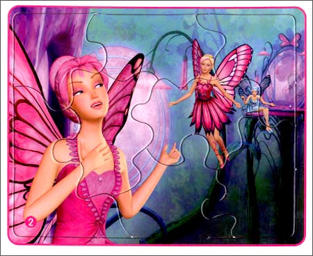 蝴蝶仙子公主怎么画简笔画内容图片展示