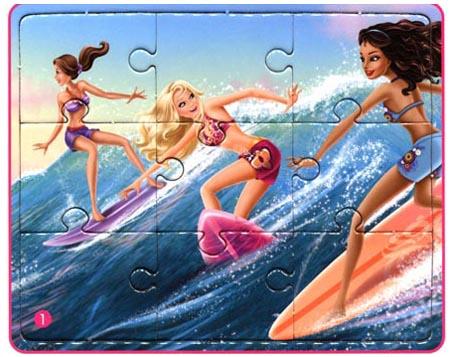 回至 芭比公主故事拼图:芭比之美人鱼历险记 (平装)