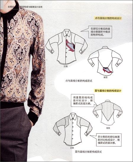 实现设计:平面构成与服装设计