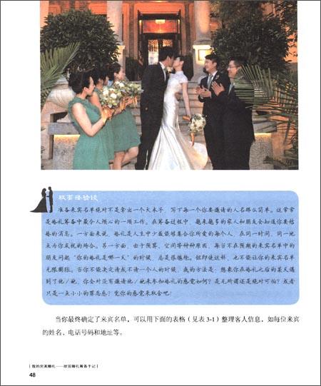 我的完美婚礼:欣芸婚礼筹备手记