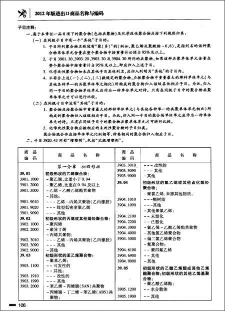 报关员资格全国统一考试系列教材:进出口商品名称与编码