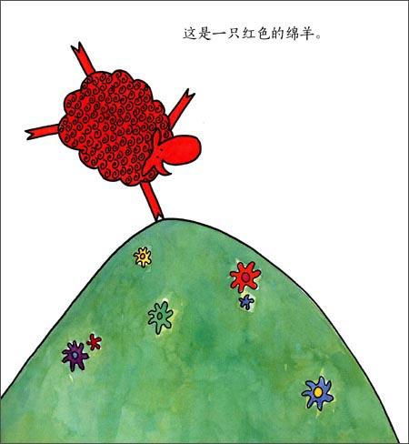 手绘雨伞的图画