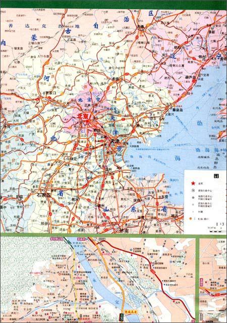 河北北京地图全图;