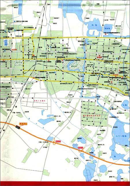 南圪洞街道地图