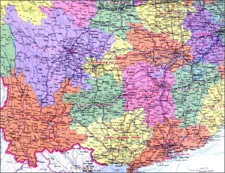 《中华人民共和国地图(英文版)
