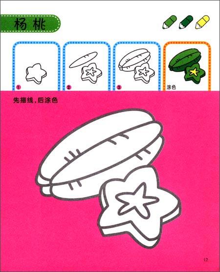 学画简笔画2:水果蔬菜61人物61昆虫:亚马逊:图书