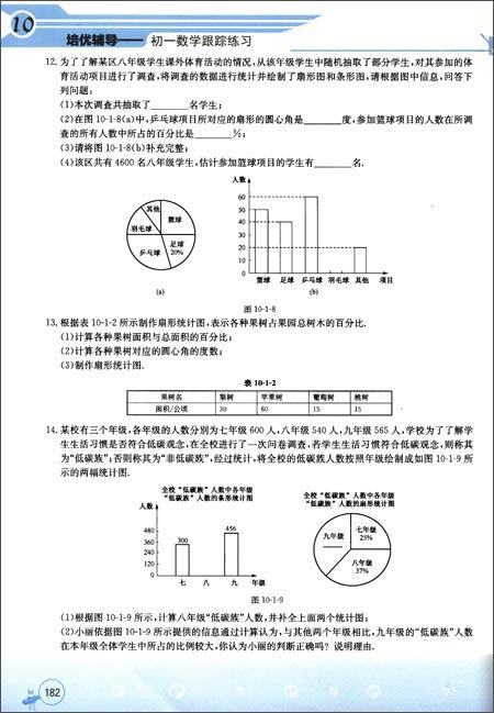 培优辅导:初1数学跟踪练习